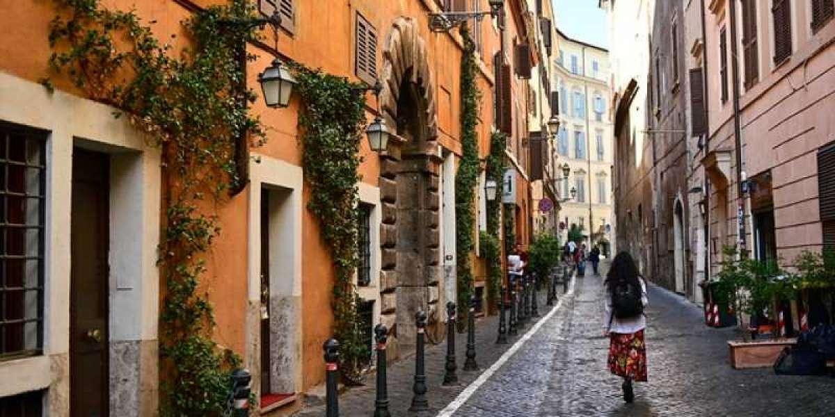 Por las calles de Roma