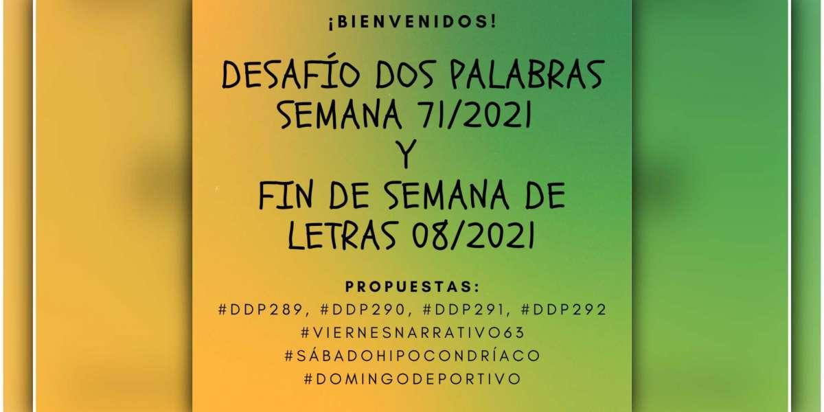 «Desafío Dos Palabras y Fin de Semana de Letras»